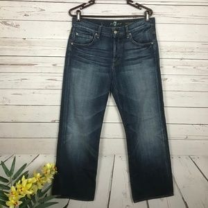 7FAM Relaxed Fit Jeans Size 31
